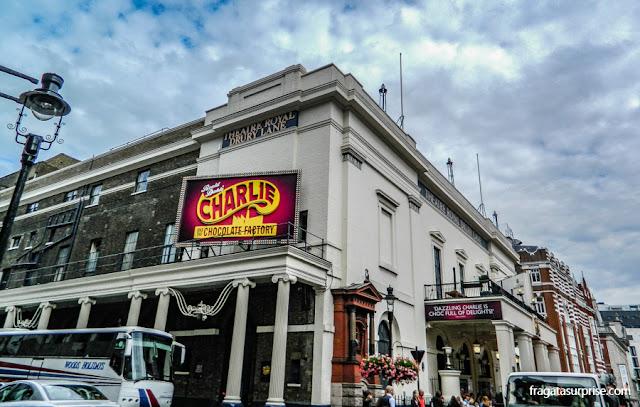 Theater Royal Drury Lane, o teatro mais antigo de Londres