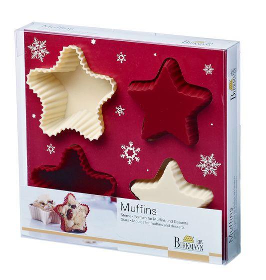 Muffin-Sternbackform von Birkmann