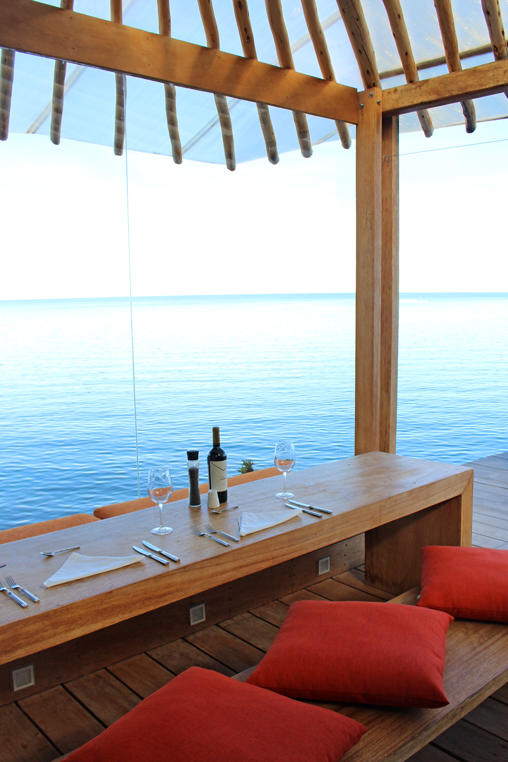 Amantica Lodge private balcony, Lake Titicaca, Peru - South America travel blog