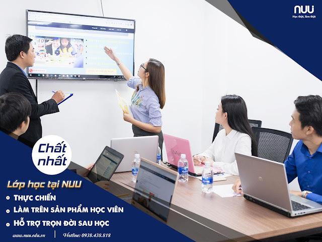 Lớp học bán hàng online tại NUU
