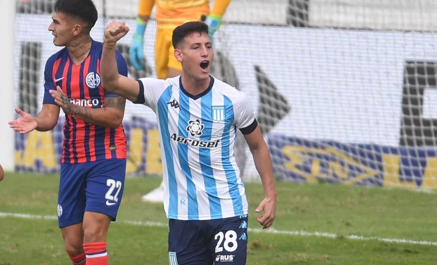 Racing venció a San Lorenzo y se clasificó a los cuartos de final