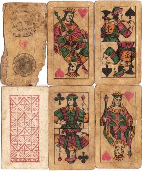 carte da gioco artistiche