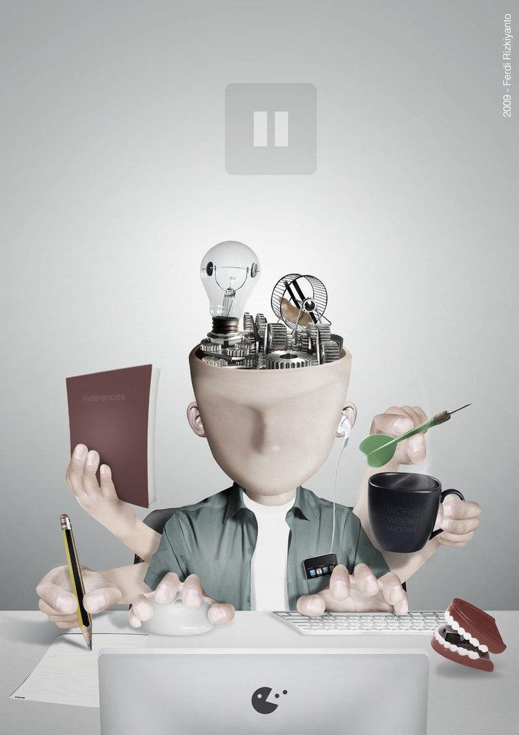 11-Pause-Ferdi-Rizkiyanto-Surreal-and-Satirical-Photo-Manipulation-www-designstack-co