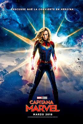 Capitana Marvel Vídeo Review Por JC. Feminismo al poder Marvelita