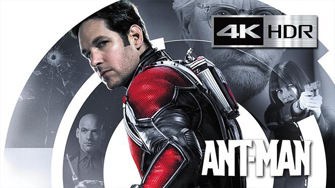 Ant-Man (2015) 4K UHD [HDR] Latino-Castellano-Ingles