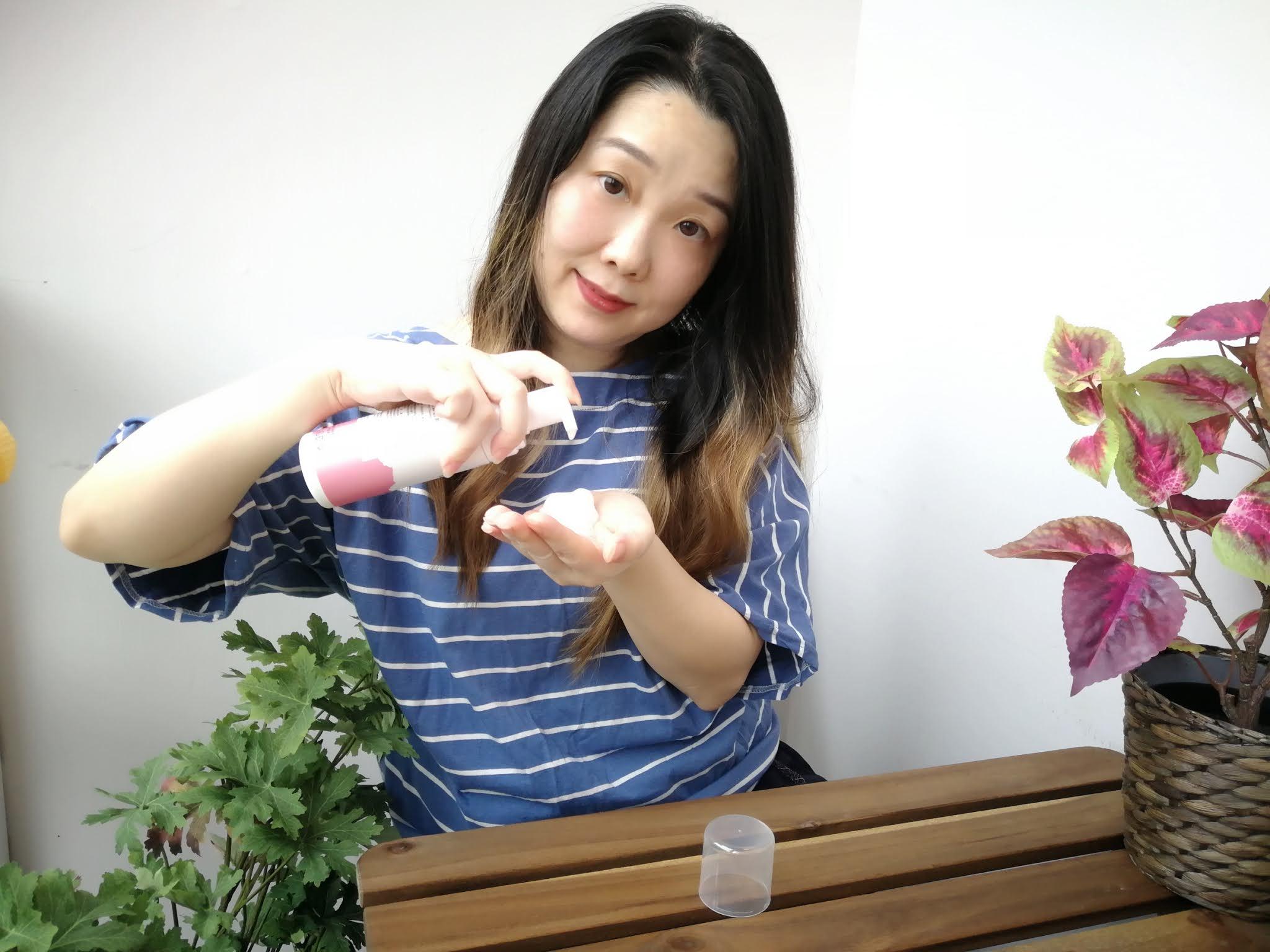 BeautySearch MyLife Blog: 卸潔保濕 一瓶三效 .。 ॢ₀《BHK's 潔顏洗卸慕斯》洗出滑嫩Q彈肌