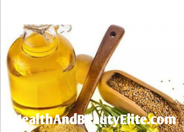 Mustard oil is the best treatment for dry and curly hair. Health And Beauty Elite.