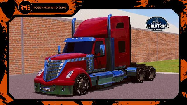 Skins World Truck Driving Simulator, LoneStar International