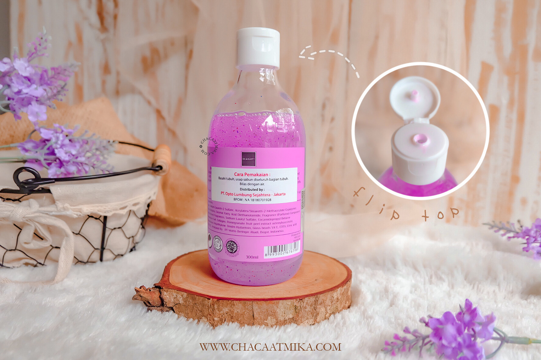 Harga Scarlett Whitening Shower Scrub