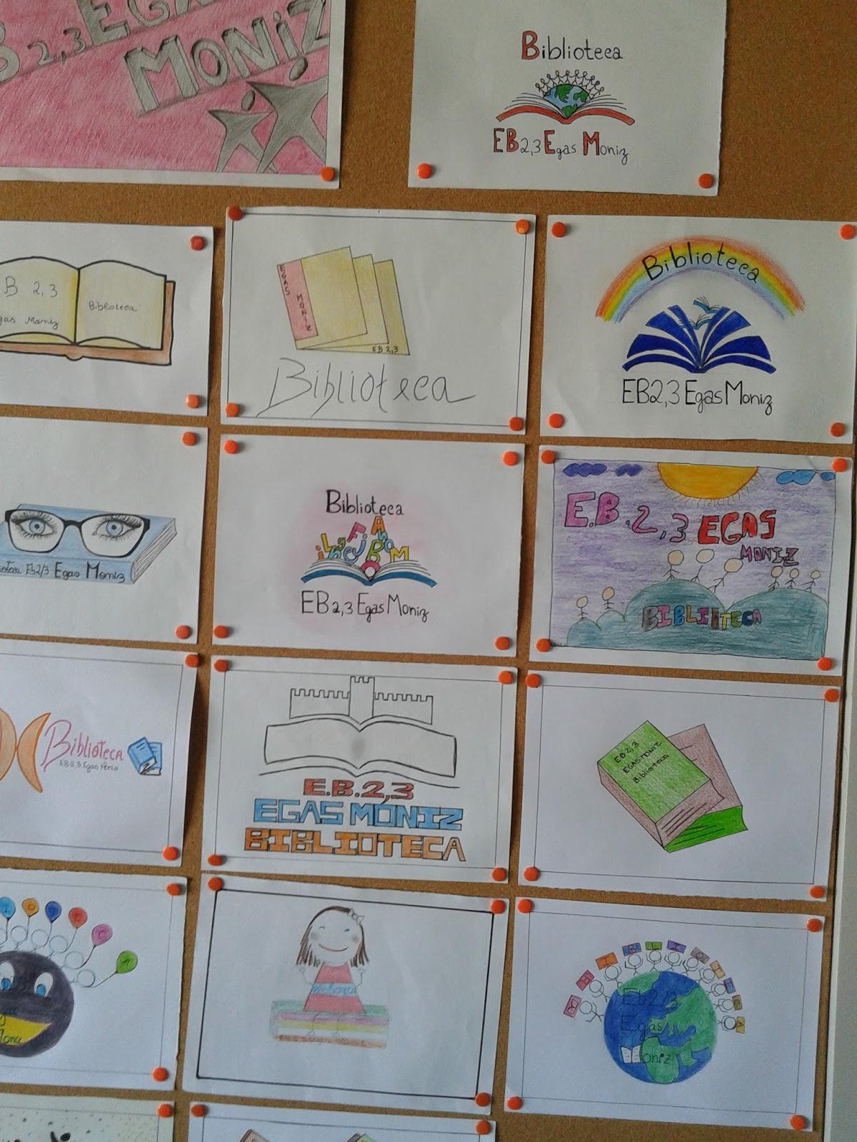 Biblioteca egas moniz concurso de log tipos para a for Logotipos de bibliotecas