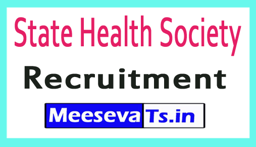 State Health Society Recruitment