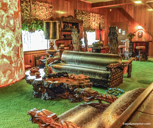 Jungle Room (sala da selva) de Graceland