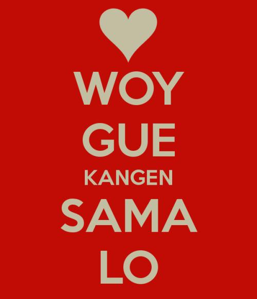 Kata Kata Cinta Kangen dan Rindu