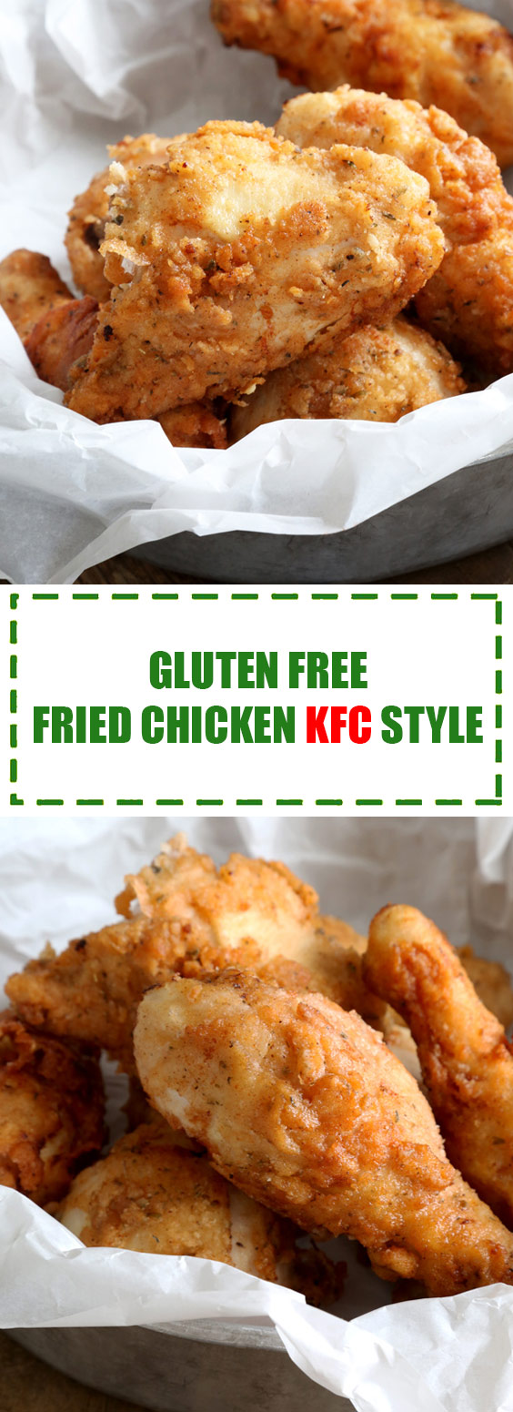 Gluten Free Fried Chicken KFC Style