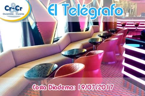 EL TELÉGRAFO - TERCER DÍA - COSTA DIADEMA 17/07/2017 AL 24/07/2017