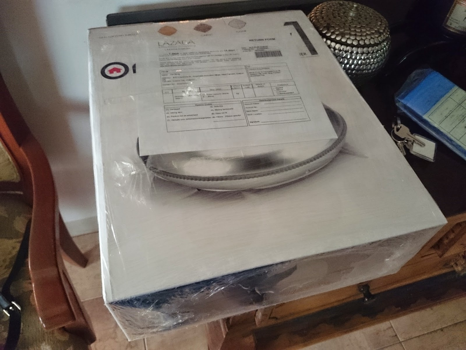 OMI RVI Robot Vacuum Cleaner Box