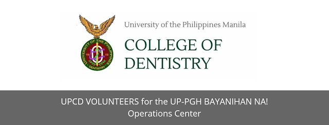 UP MANILA is looking for Volunteers from UPCD and UPDAA
