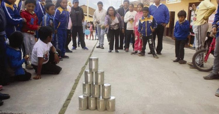 DÍA DEL JUEGO: Plantean practicar juegos de antaño en centros educativos en la provincia de Santiago de Chuco