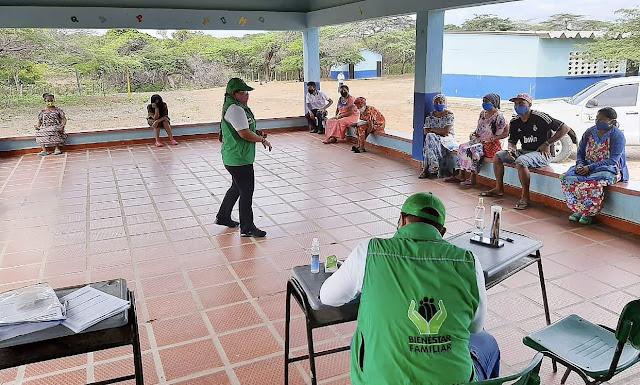 https://www.notasrosas.com/ICBF llevó a familias indígenas de Maicao, Alimentos de Alto Valor Nutricional (AAVN)