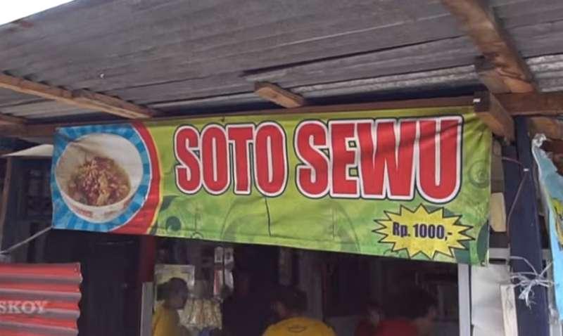 Soto Termurah di Indonesia Soto Sewu Harga Rp 1.000 (youtube.com)
