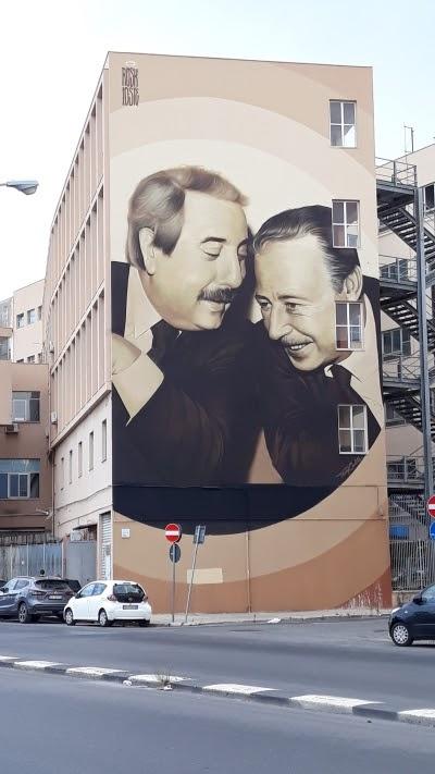 murales-Falcone e Borsellino-Palermo-legalità