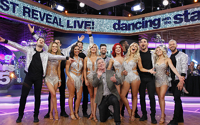 The DWTS pros fall 2017