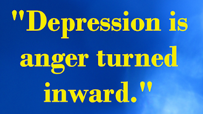 """Depression is anger turned inward,"" part of the rest when stressed video series at tammytalk.com and on Tammy Talk TV"