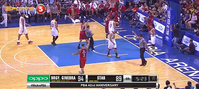HIGHLIGHTS: Ginebra vs. Star Hotshots (VIDEO) April 9