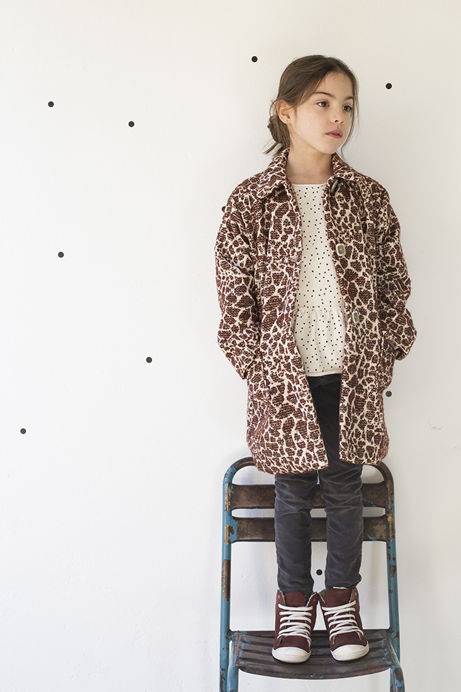 Buho Barcelona AW16 kidswear collection - Giraffe jacket