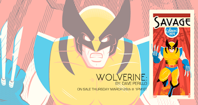 Wolverine Savage Since 1974 Marvel Origins Screen Print by Dave Perillo x Grey Matter Art