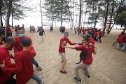 Dokumentasi Outbound Capacity Building PT. Haleyora Powerindo Bangka Belitung 2020