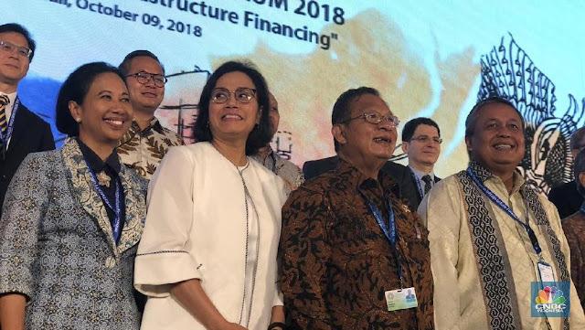 Pesan Sri Mulyani ke Delegasi IMF-WB: Habiskan Uang di Sini!