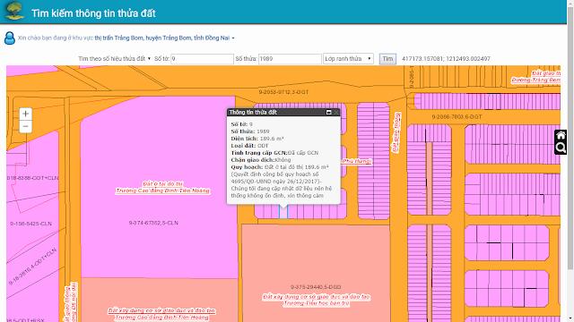 Bán đất Goldhill Trảng Bom 189.6mv (CYAH)