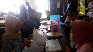 Blangko KTP Di Disdukcapil Kota Prabumulih Sedang Kosong