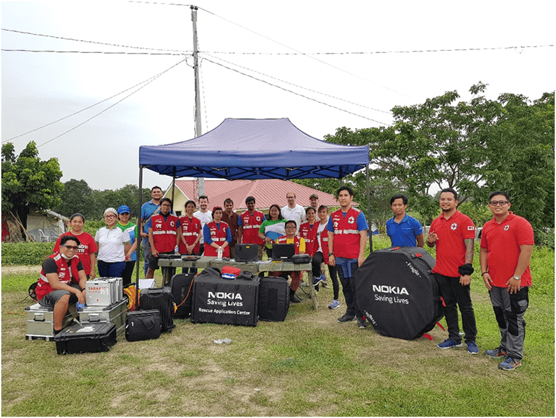 Smart, Philippine Red Cross, Nokia testing drones for disaster response