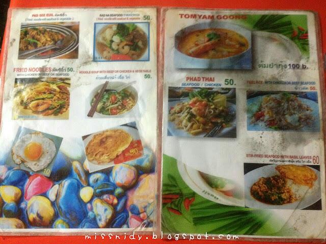 makanan halal di krabi thailand