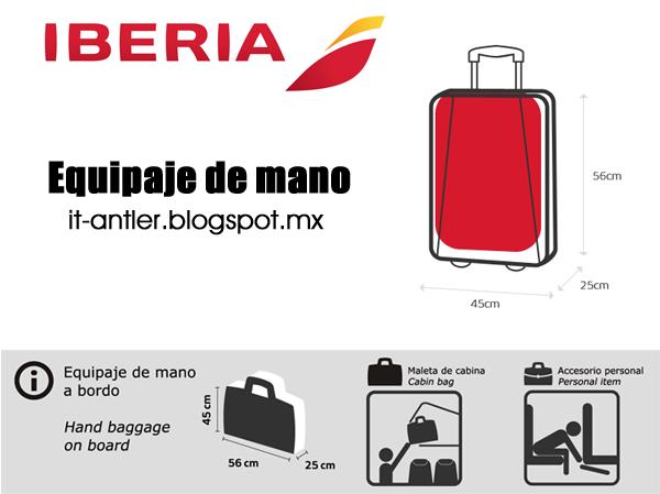 garantía limitada apariencia elegante 2020 Equipaje de mano Iberia | itluggage México