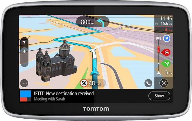 Gps Terbaru TomTom Mengunakan IFTTT 2019
