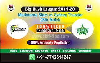 Who will win Today BBL T20, 28th Match SYT vs MLS - Cricfrog