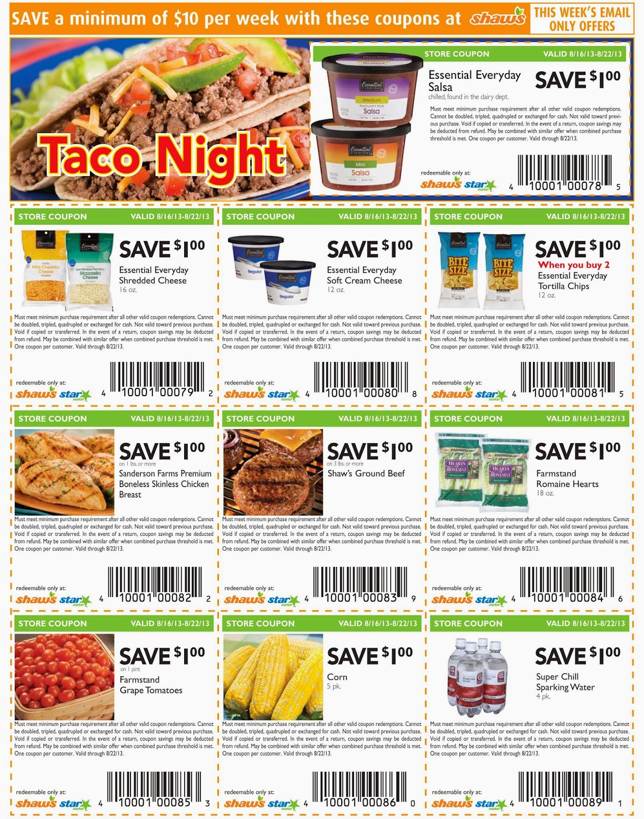 Save big with the latest Food & Grocery deals, coupons and promo codes which are added daily by our team.