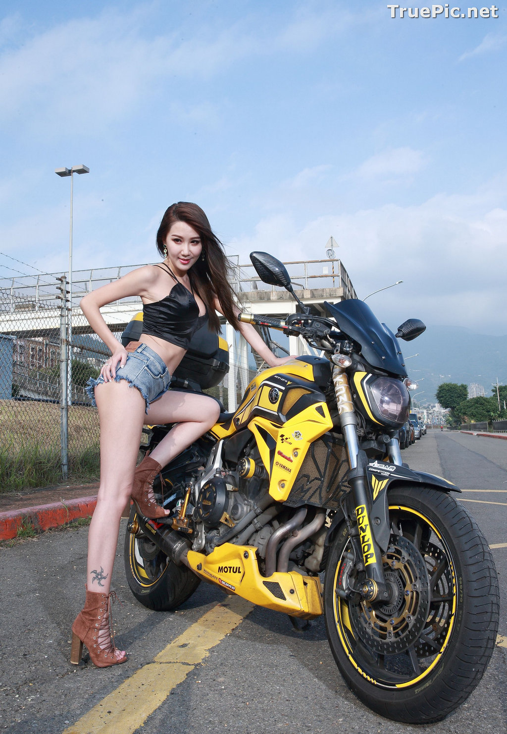 Image Taiwanese Model - Suki - Beautiful and Lovely Motor Racing Girl - TruePic.net - Picture-8