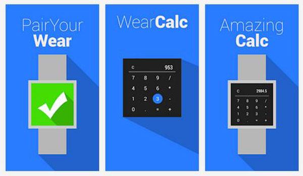 Aplikasi Android Wear Pertama: Kalkulator dan Kompas Muncul di Play Store