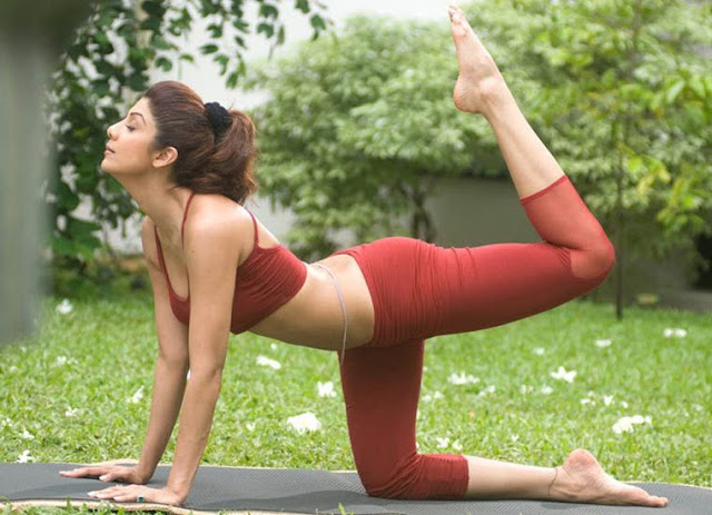 Shilpa Shetty, Yoga, International Yoga Day