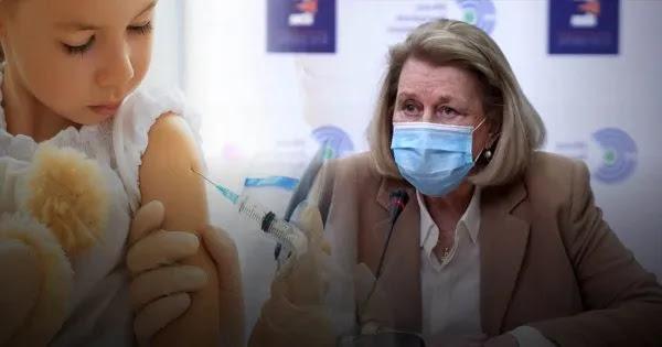 Θεοδωρίδου: Άφησε ανοικτό το ενδεχόμενο να αρχίσουν να εμβολιάζουν παιδιά από την ηλικία των 12 ετών!