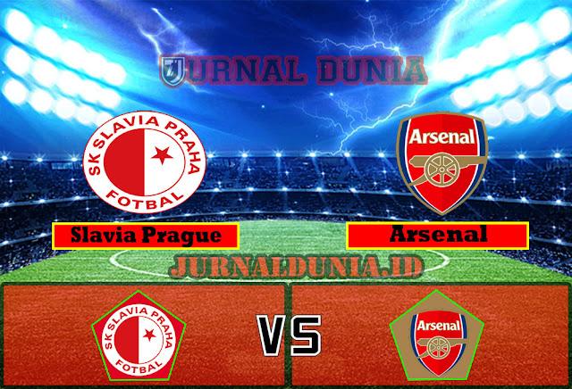 Prediksi Slavia Prague vs Arsenal, Jumat 16 April 2021 Pukul 02.00 WIB