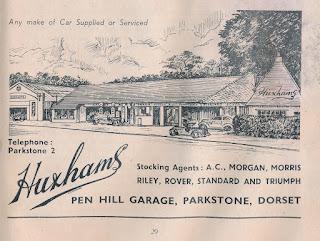 Huxhams advert 30 April 1955