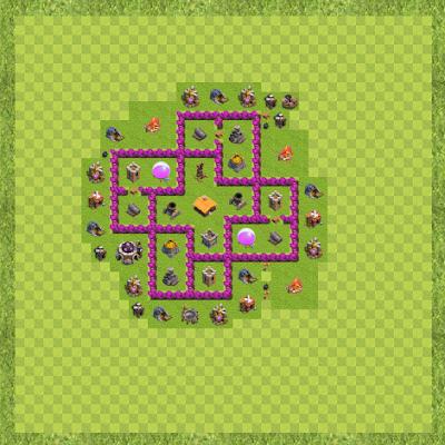 War Base Town Hall Level 6 By Sachintha Udeshika (Sac TH 6 Layout)