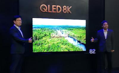 TV Samsung QLED 8K