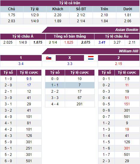 Nhận định bóng đá Slovakia vs Hà Lan, 01h45 ngày 01/06