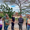 Chefe da Força Nacional visita  Várzea Alegre  e conhece projetos sociais